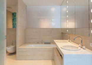 interior baño moderno