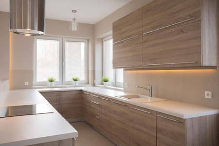 cocina de madera